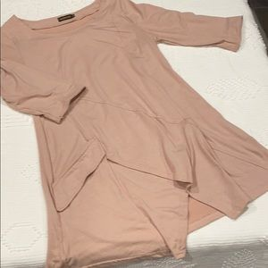 Blush tunic nice 1/2 sleeve Excellent condition!